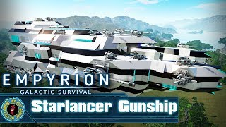 Starlancer - Gunship CV by sulusdacor  -  Empyrion: Galactic Survival Workshop Showcase