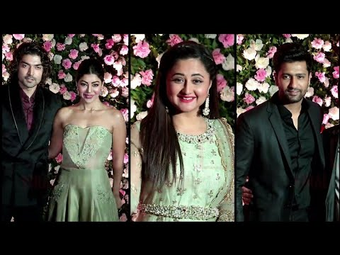 Rashami Desai, Guru, Vicky Kaushal At Kapil Sharma - Ginni Wedding Reception