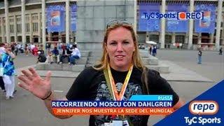 Mundial de Atletismo - Recorriendo Moscú con Jennifer Dahlgren