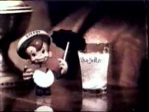 Vintage alkaseltzer commercial