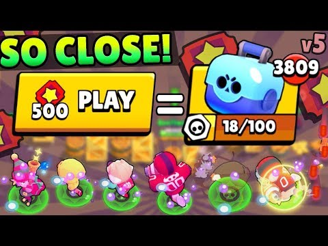 MY MOST BRAWL BOXES EVER! x500 TICKET BIG GAME BETS GONE AMAZING!!