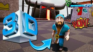 3D | Clash Of Clans | Gameplay 100% Real | Animated Clash of clans 2018...