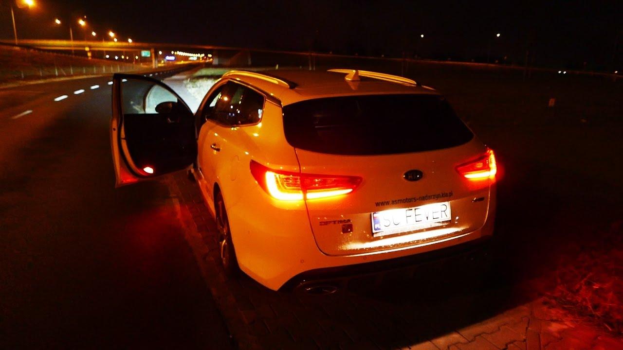 2017 Kia Optima Sw Gt Line Night Driving Led Lights Jazda Testowa Próbna Test Pl