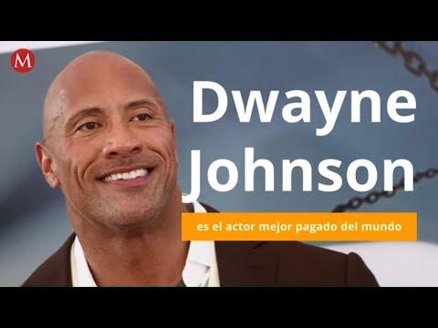Dwayne Johnson es el actor mejor pagado del mundo