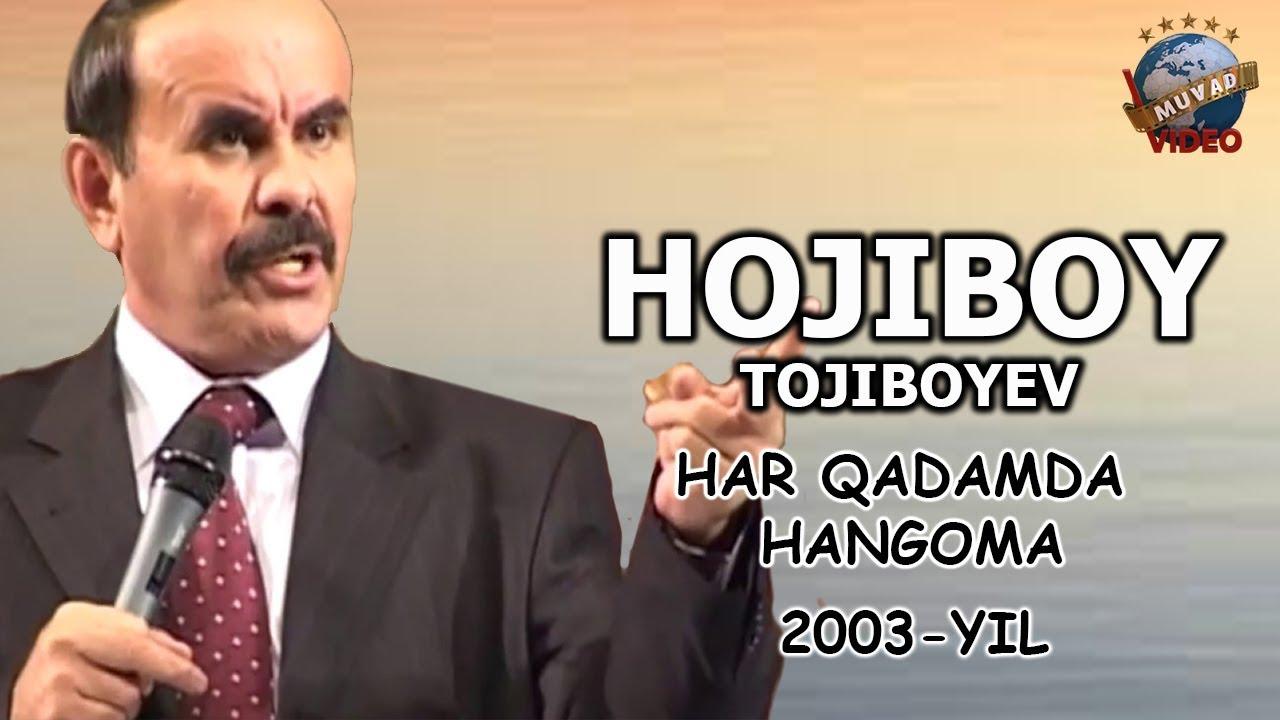 Hojiboy Tojiboyev - Har qadamda hangoma nomli konsert dasturi 2003