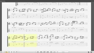 Thằng cuội (OST) - Tôi thấy hoa vàng trên cỏ xanh guitar solo