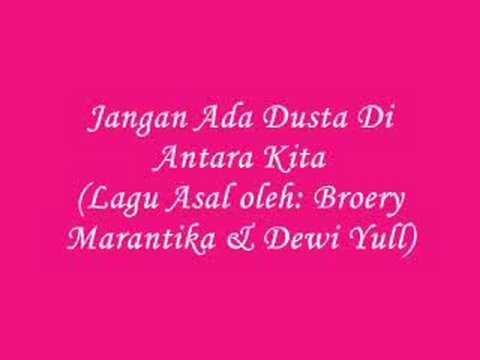 JANGAN ADA DUSTA DIANTARA KITA{Originally By Broery & Dewi Yull) Karaoke/Vocal: WARDI AHMAD