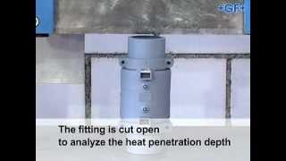 Флексален, электрофузионная сварка - вид изнутри(, 2013-02-07T18:18:38.000Z)