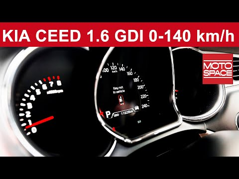 Kia cee'd 1.6 GDI DCT Panel LCD 0-140 km/h | motospace.pl