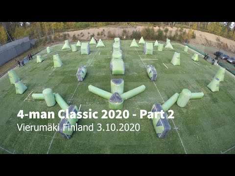 4-man Classic 2020 Games - Part 2