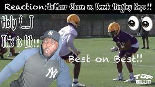 OMG: REACTION to LSU Ja'Marr Chase vs. Stingley REPS!!!!!