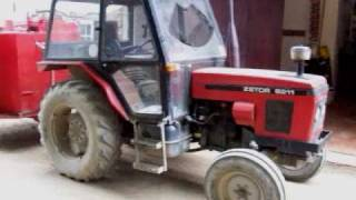 Zetor 6211 Tractor on the Island of Sark