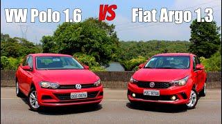 Volkswagen Polo 2018 1.6 vs Fiat Argo 2018 1.3