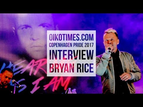 oikotimes.com: interview with Bryan Rice at Copenhagen Pride 2017