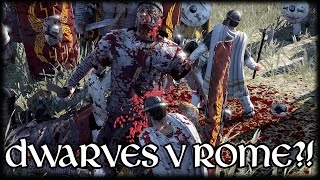 DWARVES V ROMANS?! Total War Attila Mod (Antiquity: Back to Rome 2)