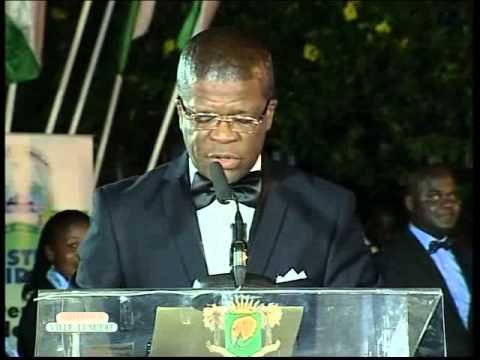 Cérémonie de lancement de ''Abidjan ville lumière'' du 19 Décembre 2013 - partie 1
