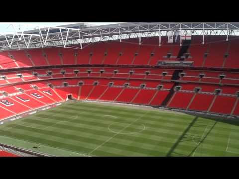 Wembley From The Upper Deck