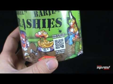 Collectible Spot - Moose Toys The Trash Pack Barrel of Trashies OPENING!