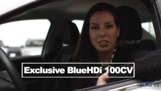 Interni e bagagliaio Citroen C-Elysèe Exclusive BlueHDi 100cv