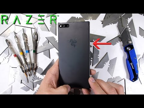 Razer Phone Just Passes JerryRigEverything's Durability Tests