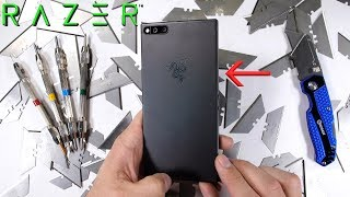 Razer Phone Durability test - Scratch BURN and BEND tested! thumbnail
