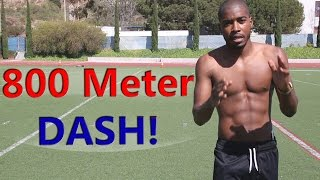 How to Run Faster 800m Dash + Race Tips & Strategy!