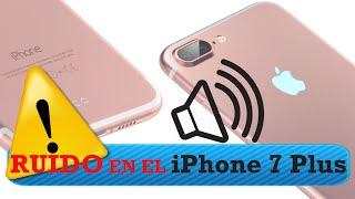 alerta ruido iphone 7 plus en espaol