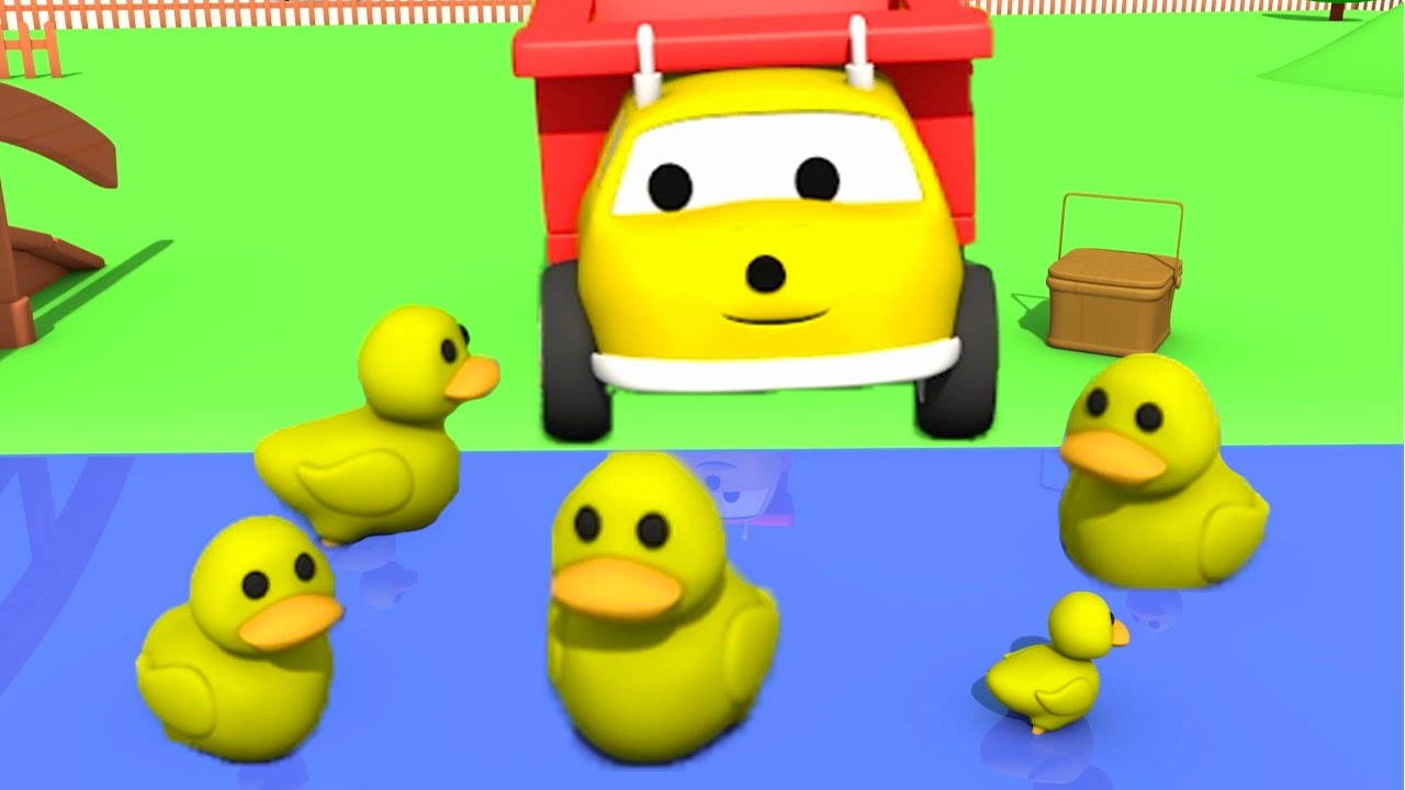 learn-colours-numbers-while-feeding-the-ducks-with-ethan-the-dump-truck