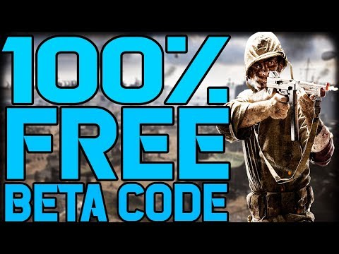 How To Get A 100% FREE Call Of Duty WW2 Beta Code! All Platforms Working