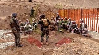 Emboscada Practicas de Cadetes del Ejército Estadounidence y Peruano