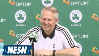 Danny Ainge Full Reaction To NBA Draft Lottery Results