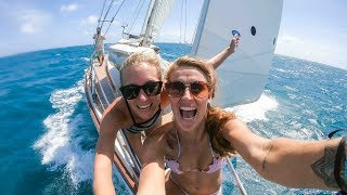 One Helluva sail to Grenada! - Sailing Vessel Delos Ep.197
