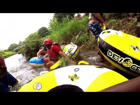Episode #27  Hanging out in Grenada   We go river tubing!