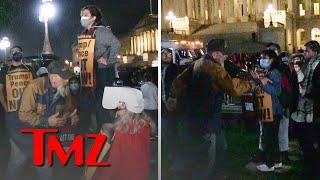 Amy Coney Barrett Confirmation Triggers Protest Outside Capitol Building | TMZ