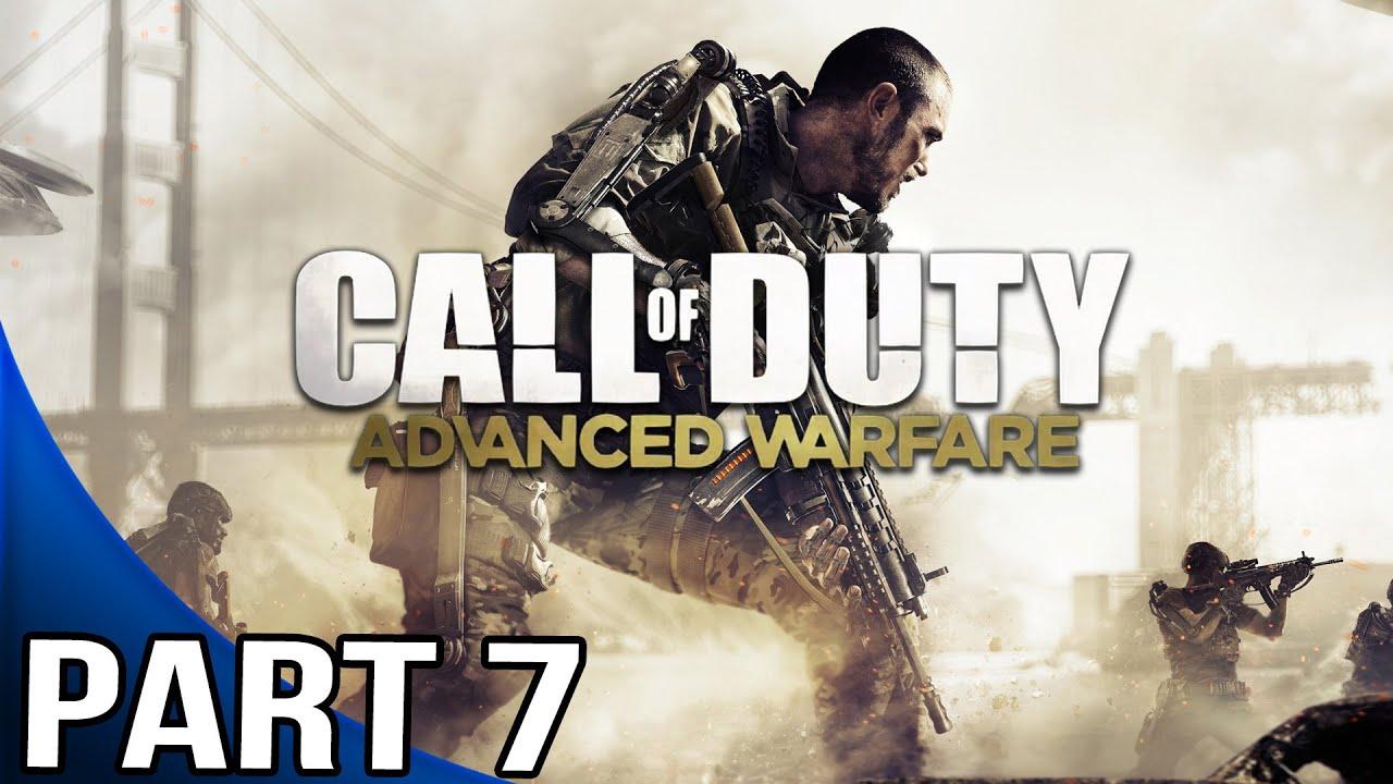 Call of Duty Advanced Warfare - Gameplay Walkthrough Part 7 - Mission 7 - Utopia