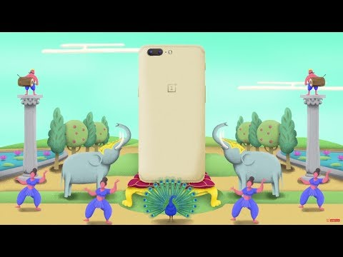 Introducing the OnePlus 5 Soft Gold Limited Edition