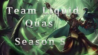 Team Liquid Quas Swain TOP vs Cassiopeia Season 5 Patch 5.10