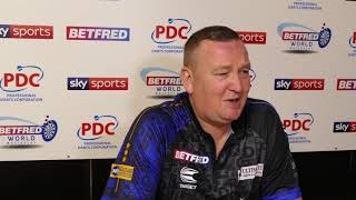 Glen Durrant has a message his DOUBTERS following victory over Adrian Lewis