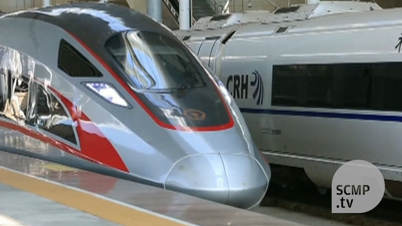 China unveils world's fastest bullet train