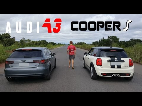 AUDI A3 VS MINI COOPER S