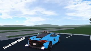 Roblox Greenville: The McLaren 570GT Sounds Like A Lamborghini Now.
