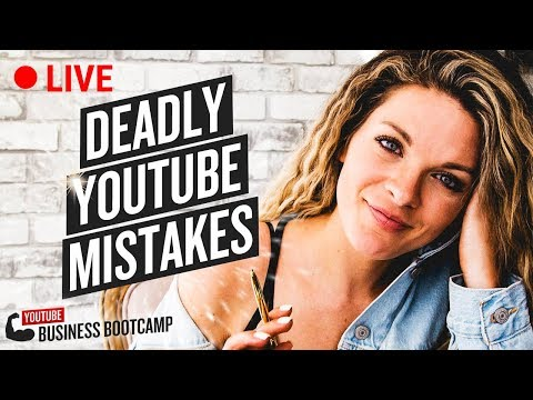 5 DEADLY MISTAKES NEW YOUTUBERS MAKE