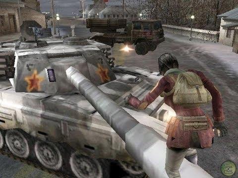 Mercenaries Gameplay PS2