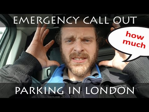 DAY IN THE LIFE OF AN ELECTRICIAN | EMERGENCY CALL OUT | PARKING IN LONDON