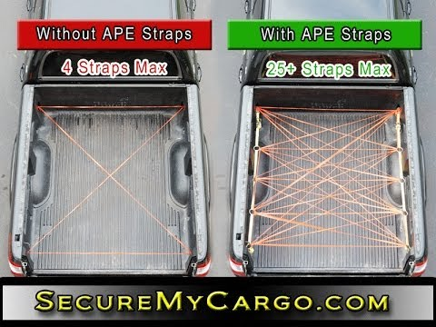 SecureMyCargo.com APE Strap Introduction ( cargo management system)