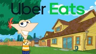 Phineas Orders Uber Eats