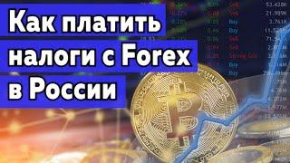 Как трейдеру платить налоги с Форекс в России?