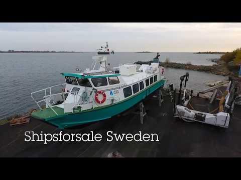 Shipsforsale Sweden aluminium passenger vessel Kungsholm.