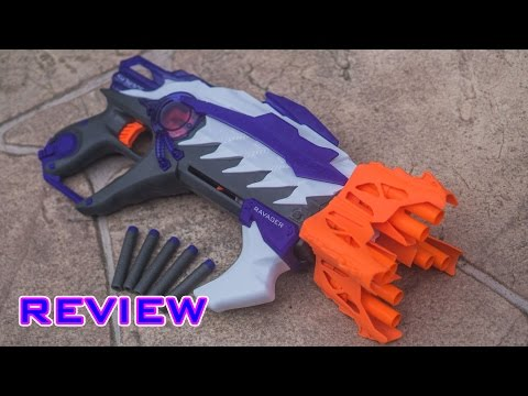 [REVIEW] Nerf Alien Menace Ravager Unboxing, Review, & Firing Test