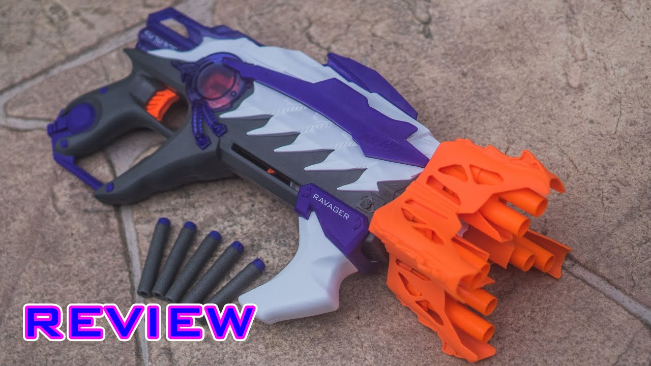 [REVIEW] Nerf Alien Menace Ravager Unboxing Review & Firing Test
